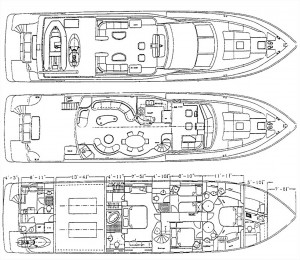 Yacht Lady Blueprint