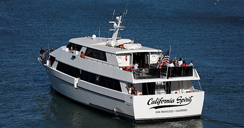 California Spirit - Luxury Yacht