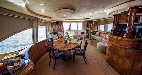 Yacht Lady - Main Floor Interior